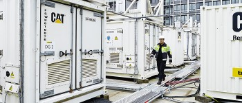 Power generators used to increase production during peak demands