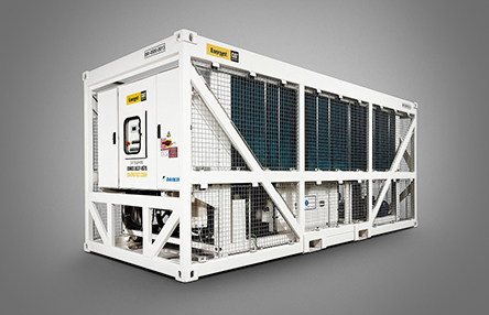 Contained, packaged chillers provide chilled liquid for process cooling or temperature control
