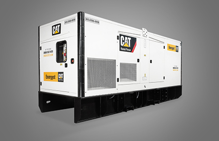ou can rent modular diesel and gas-powered CAT generator systems