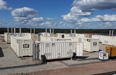 Energyst provided 11x CAT XQ2000 generators