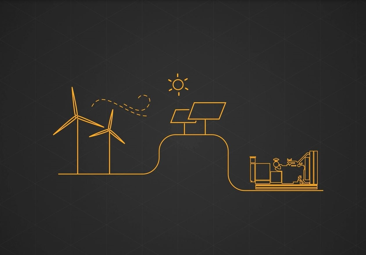 Energyst CAT Caterpillar hybrid microgrids renewables hydro wind solar power